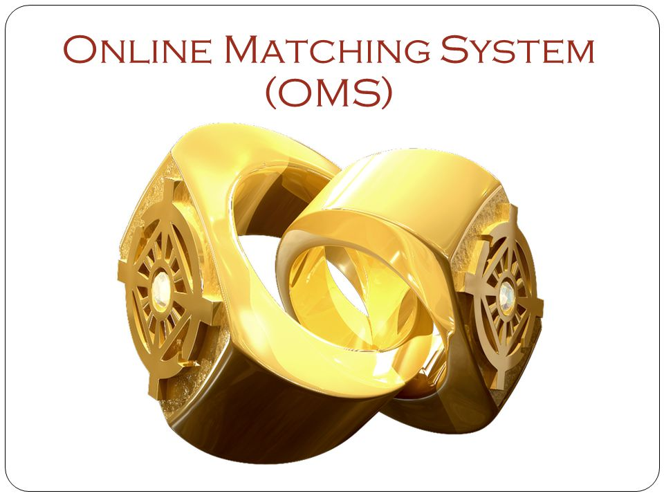 Online Matching System (OMS)