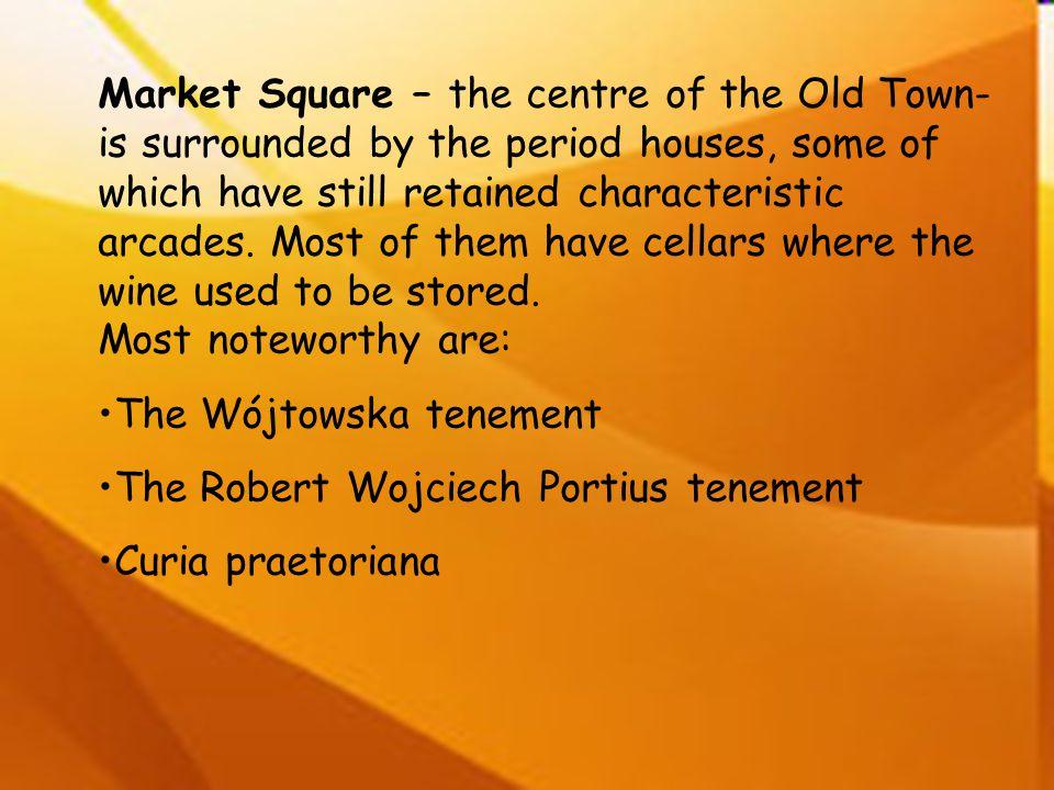 The Wójtowska tenement