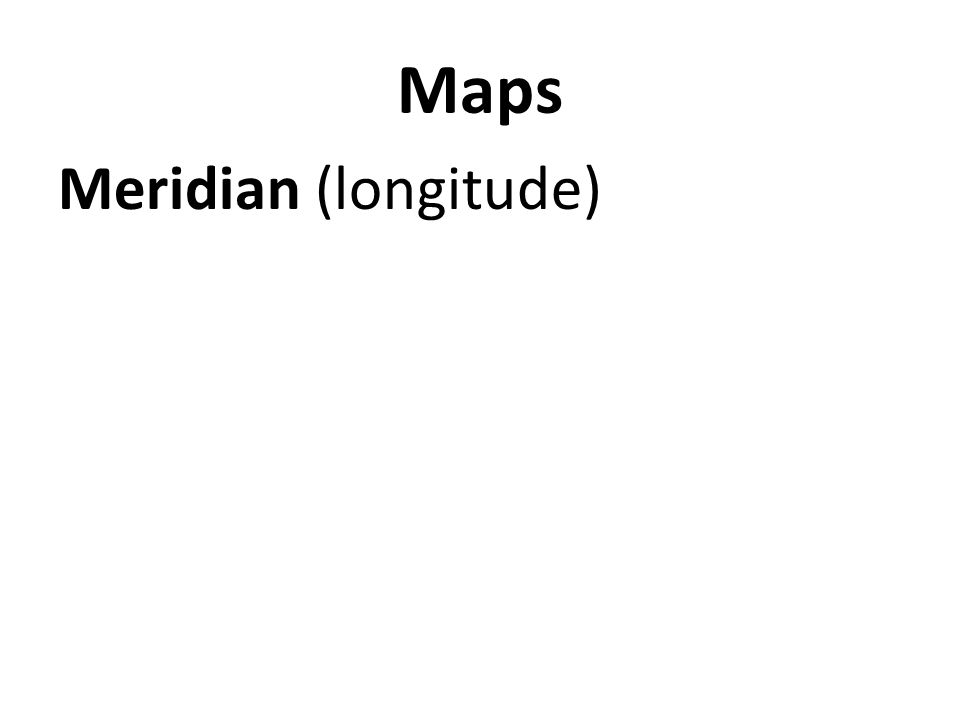 Meridian (longitude)
