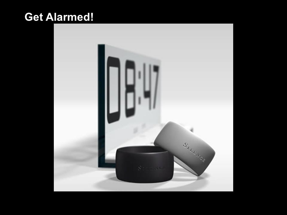 Get Alarmed!