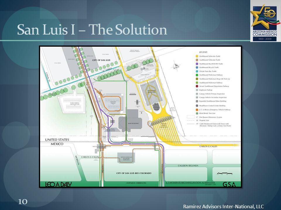 10 San Luis I – The Solution Ramirez Advisors Inter-National, LLC