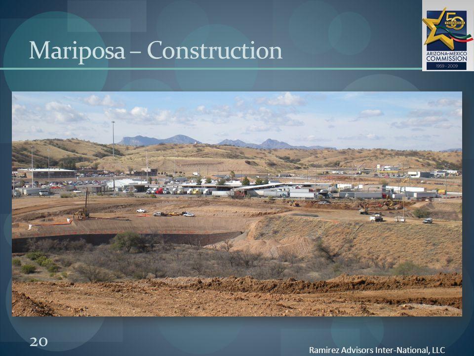 20 Mariposa – Construction Ramirez Advisors Inter-National, LLC
