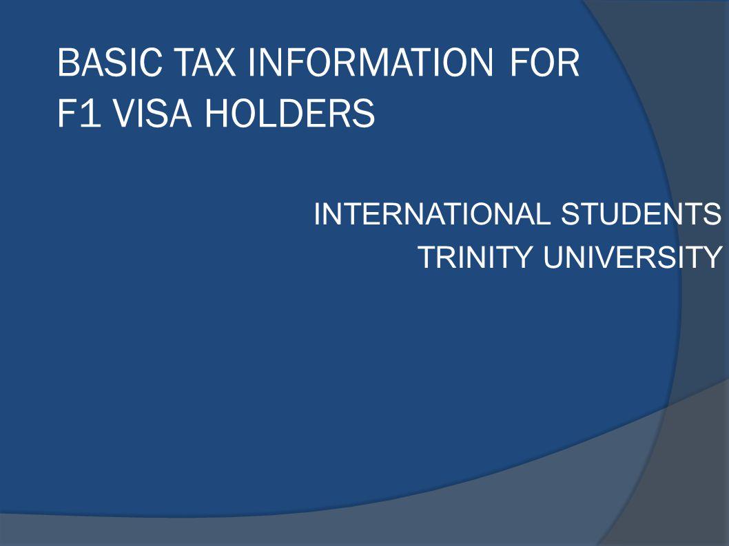 INTERNATIONAL STUDENTS TRINITY UNIVERSITY