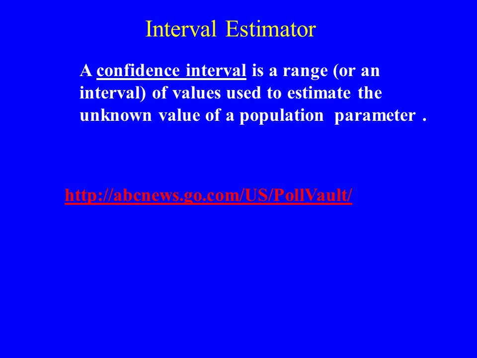 95% Confidence Interval for p