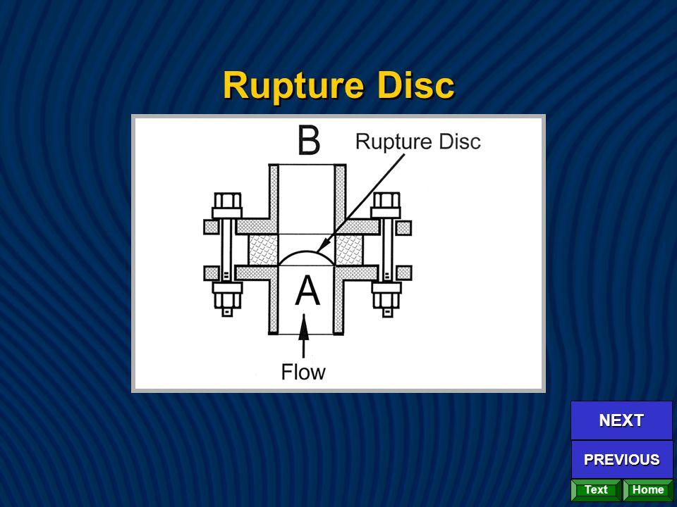 Rupture Disc Home NEXT PREVIOUS Text