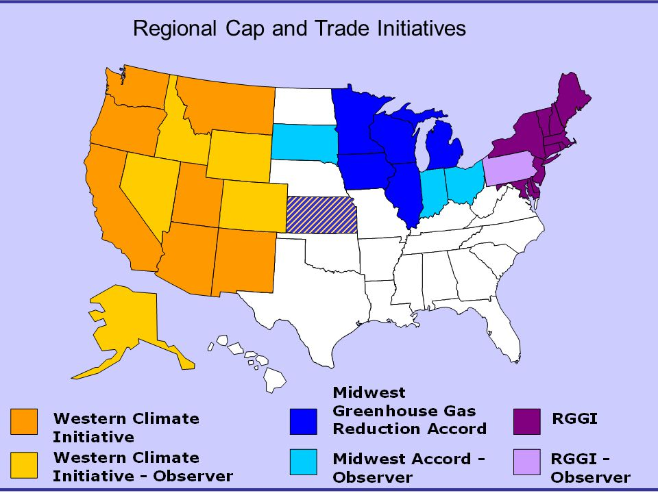 Regional Cap and Trade Initiatives