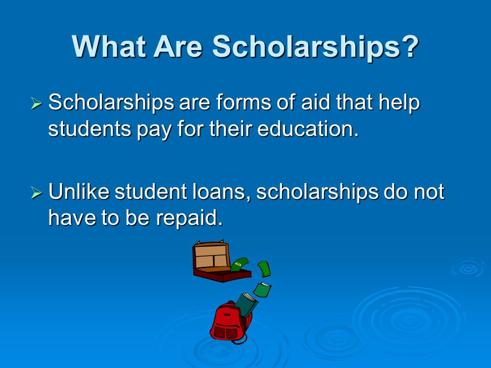 How Are Scholarships Awarded.