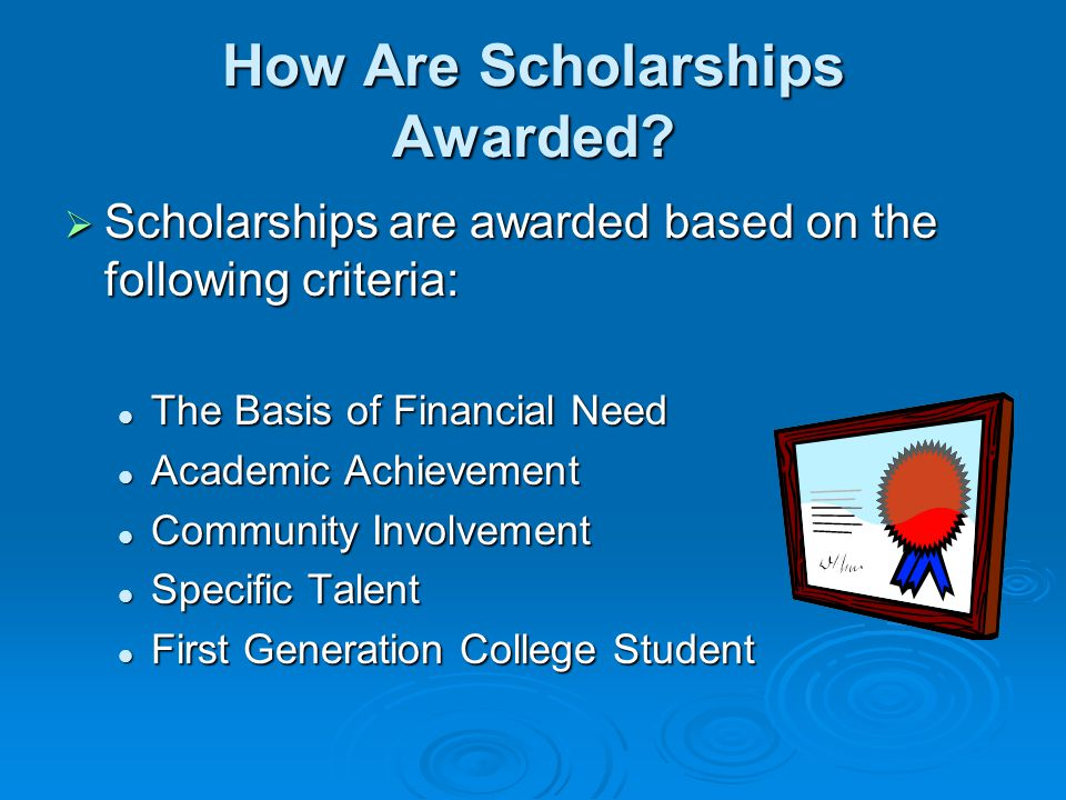 How Can I Get Scholarships For College.
