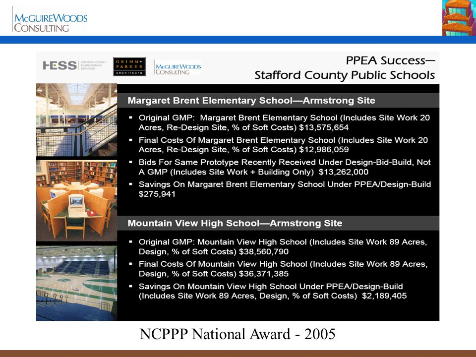 NCPPP National Award - 2005