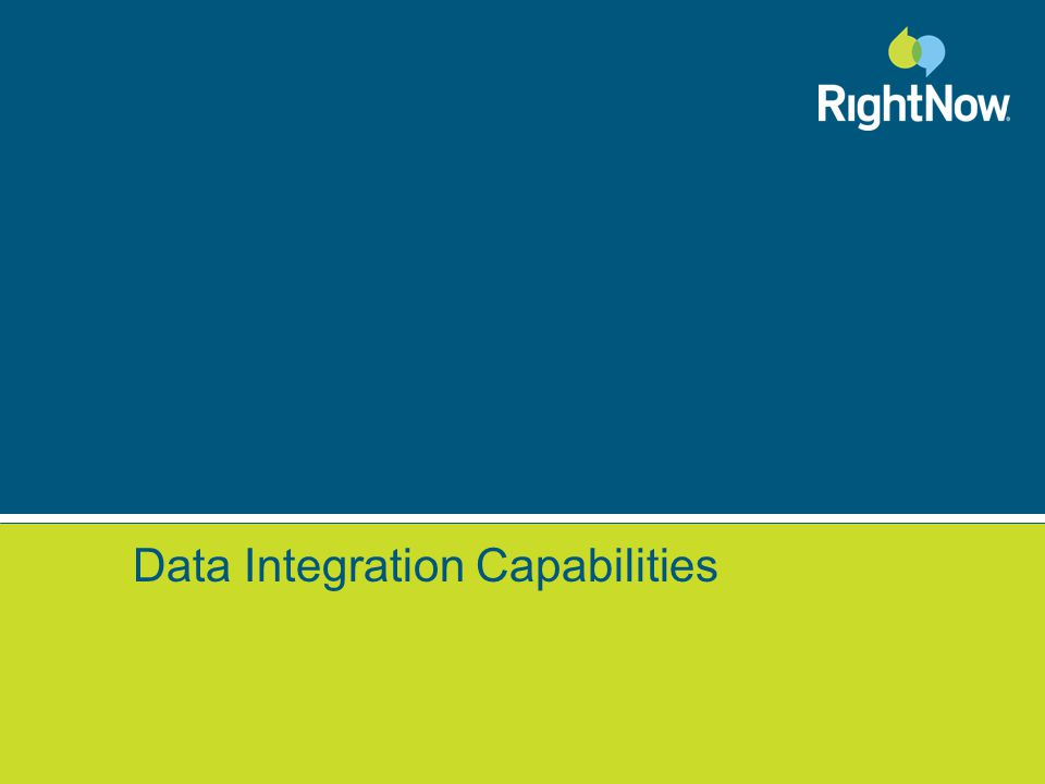 Data Integration Capabilities