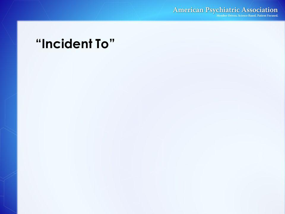 """Incident To"""