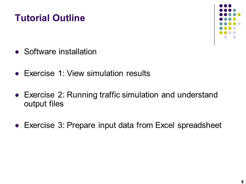 Step 26: Run Simulation: Network-level MOE 39