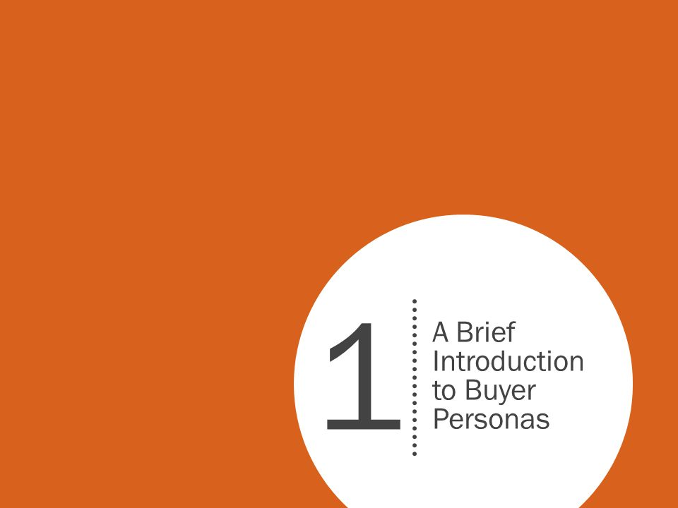 What Are Buyer Personas.Buyer personas are fictional representations of your ideal customers.