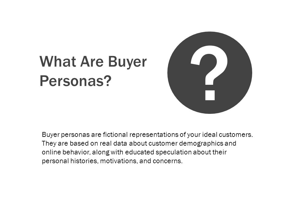 How Are Buyer Personas Created.