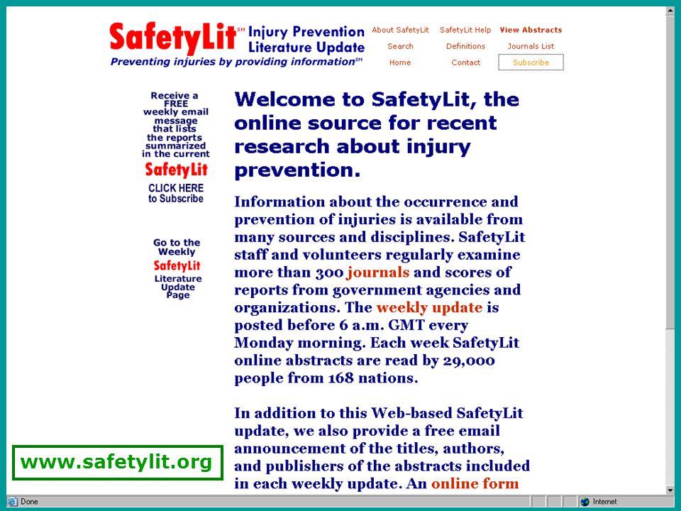 17 www.safetylit.org