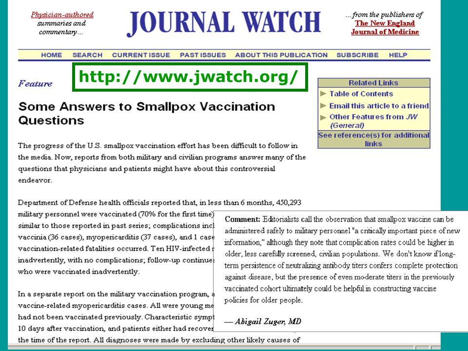 18 http://www.jwatch.org/