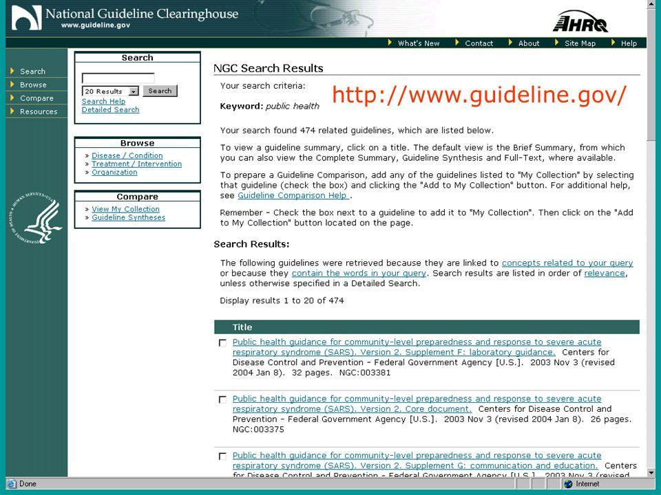 20 http://www.guideline.gov/