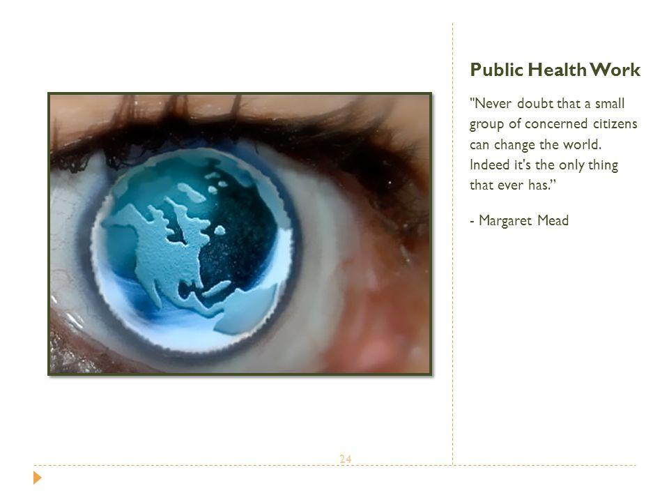 Public Health Work