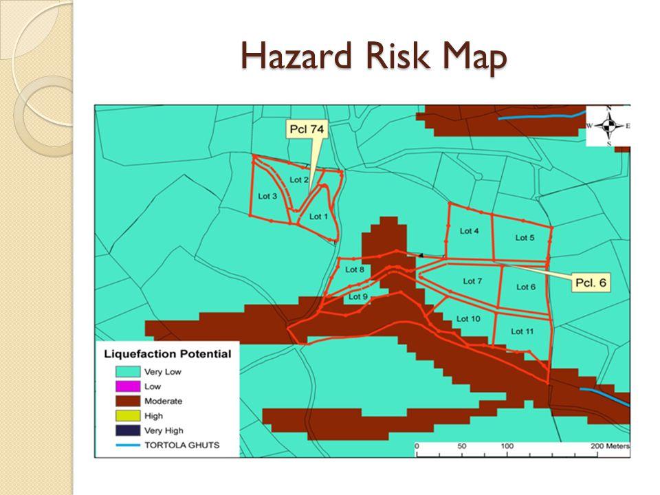 Snapshot of Hazard & Vulnerability Assessment (HVA) Process For Proposed Land Development ◦ Use hazard data available for various hazards on GIS database (i.e.