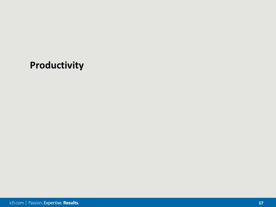 17 Productivity