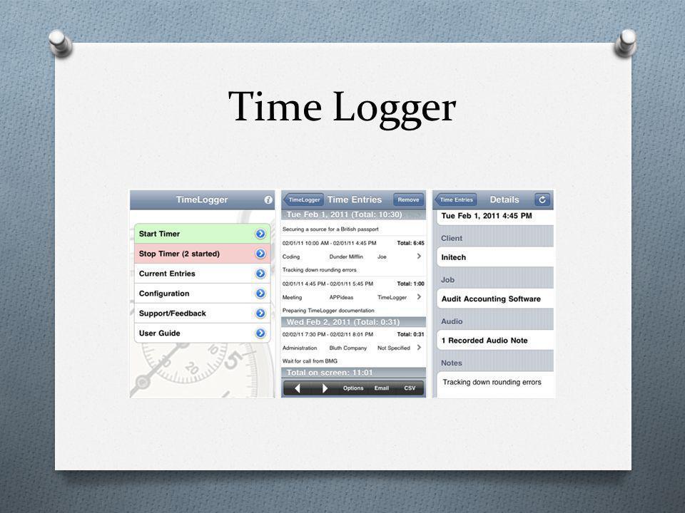Time Logger