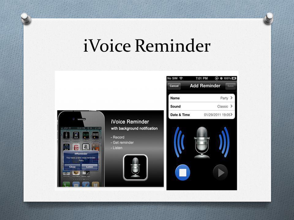 iVoice Reminder