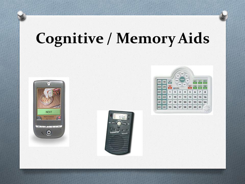 Cognitive / Memory Aids