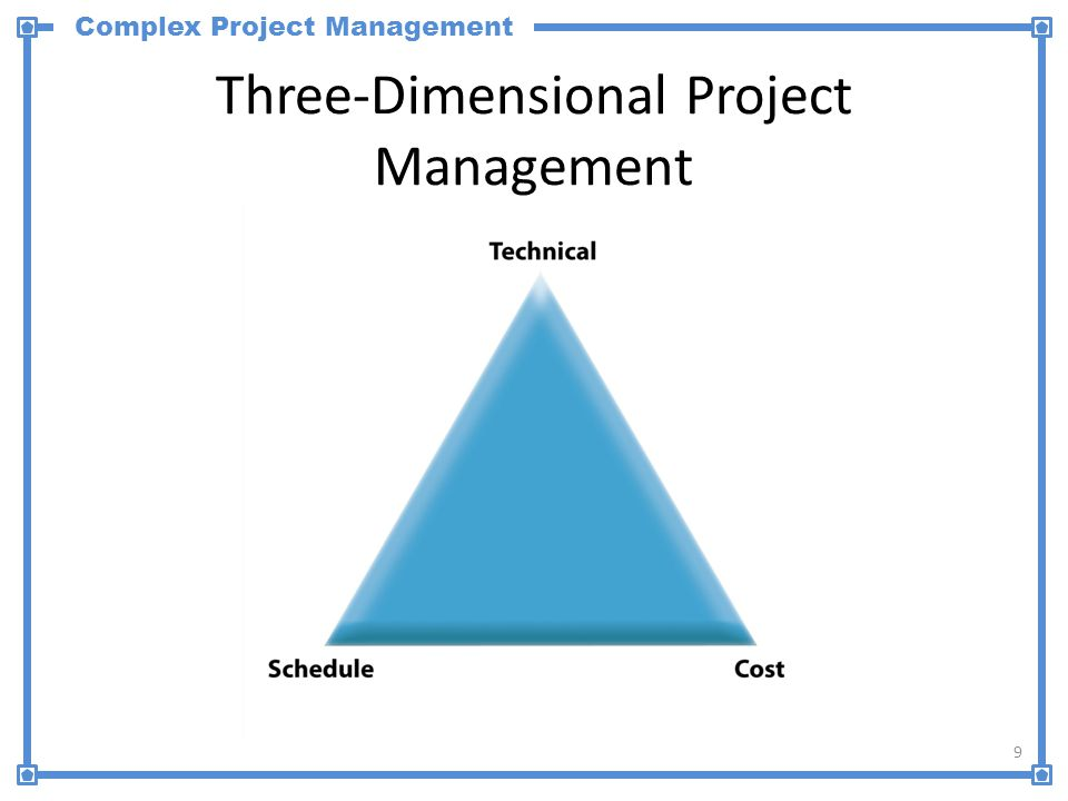 Complex Project Management Five-Dimensional Project Management 10