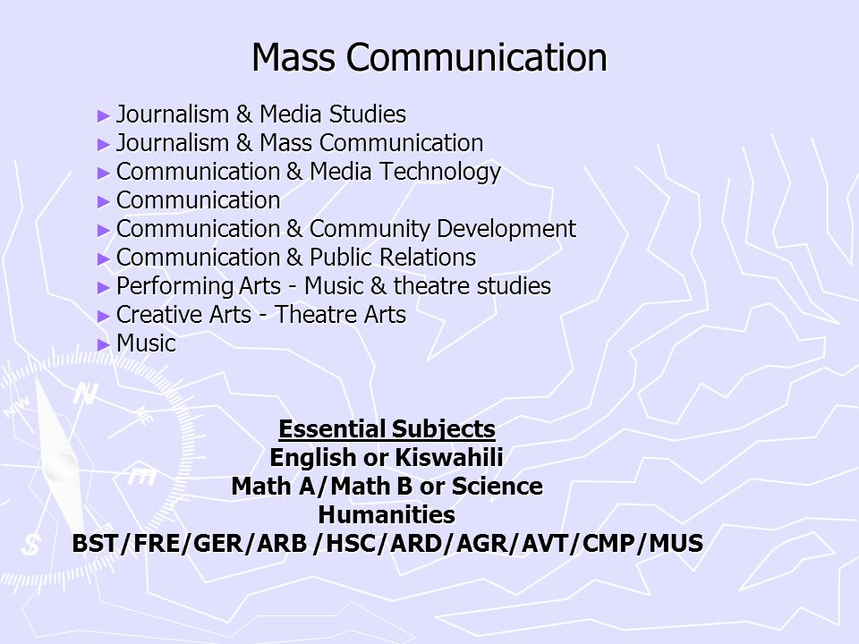 Mass Communication ► Journalism & Media Studies ► Journalism & Mass Communication ► Communication & Media Technology ► Communication ► Communication &