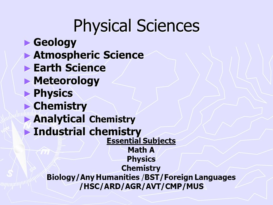 ► Geology ► Atmospheric Science ► Earth Science ► Meteorology ► Physics ► Chemistry ► Analytical Chemistry ► Industrial chemistry Physical Sciences Es