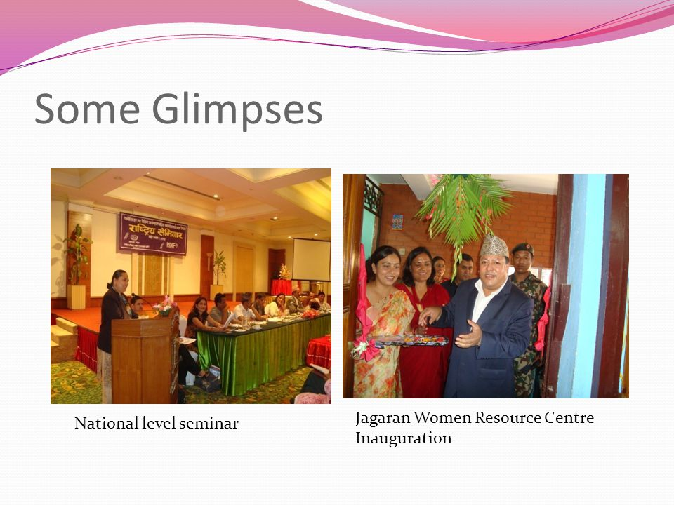Some Glimpses National level seminar Jagaran Women Resource Centre Inauguration