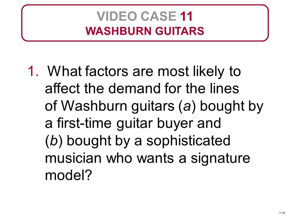 VIDEO CASE 11 WASHBURN GUITARS 1.