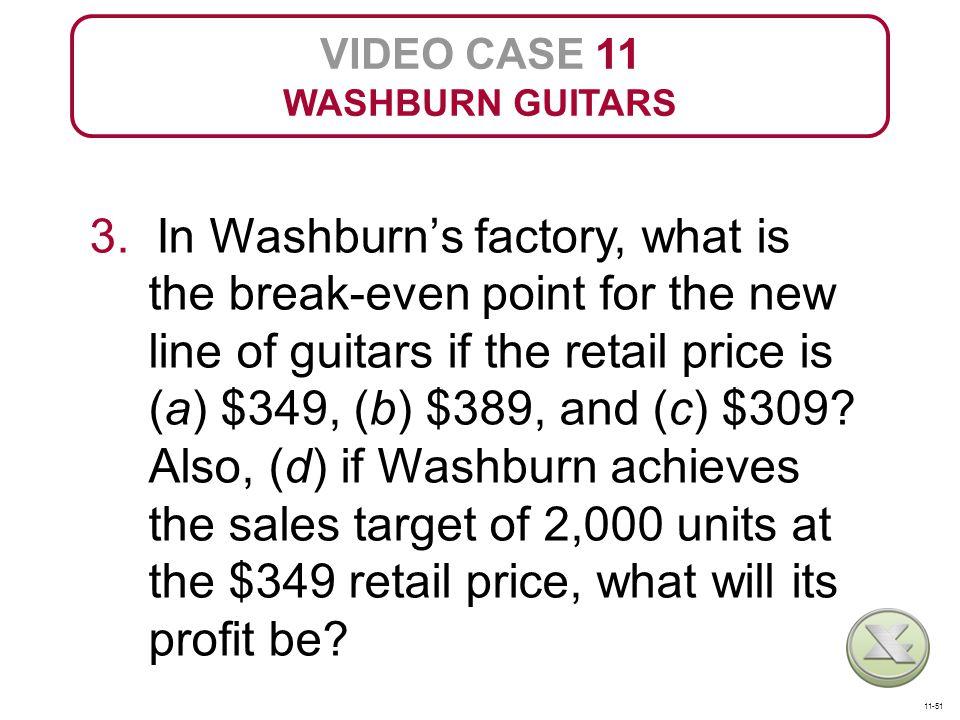 VIDEO CASE 11 WASHBURN GUITARS 3.