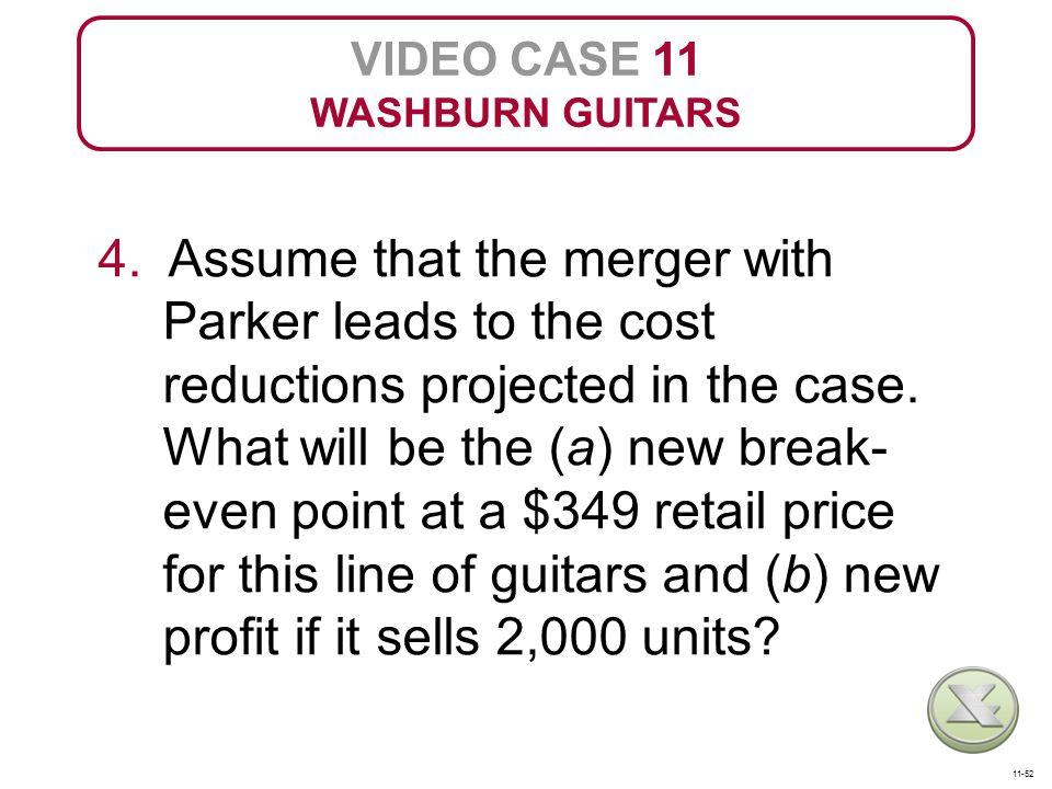 VIDEO CASE 11 WASHBURN GUITARS 4.