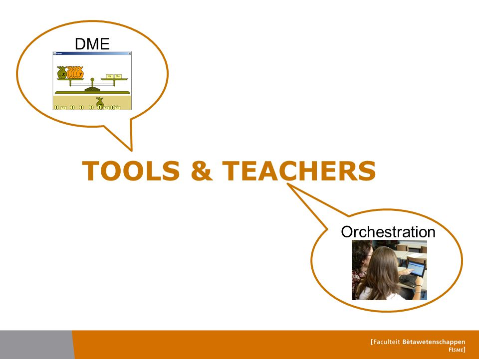 DME qualities  DME scores good on feedback facilities Bokhove, C.