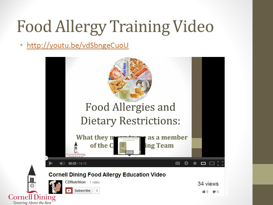Resources for Foodservice Celiac Central   GREAT program: Gluten Free Resource Education and Awareness Training Udi's Food Service Information Website   service/ Food Allergy Research Education   FAAN College Network:   Food Allergy Training Guide for College and Universities   id=137