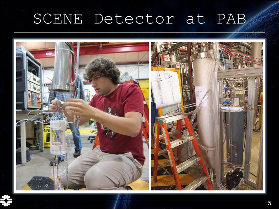SCENE Detector at PAB 5