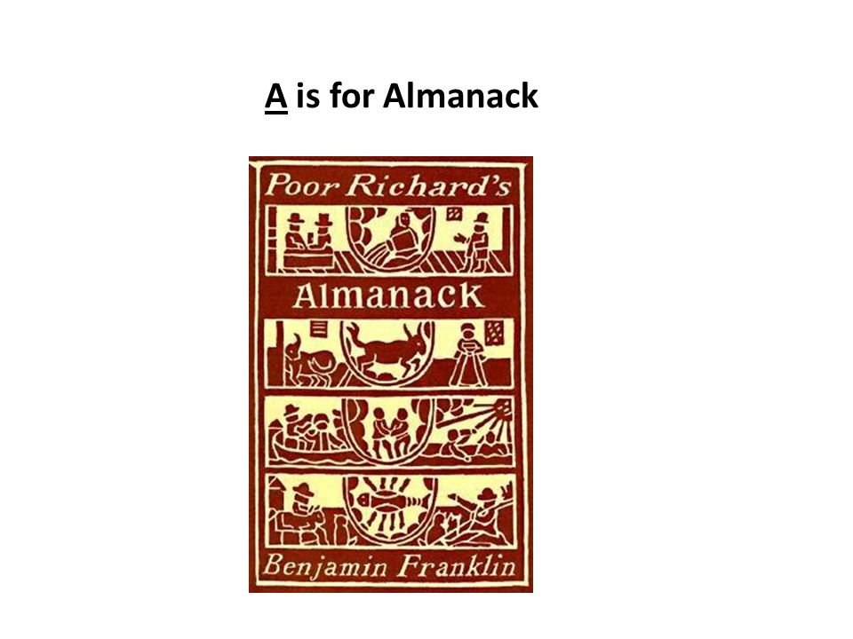 A is for Almanack