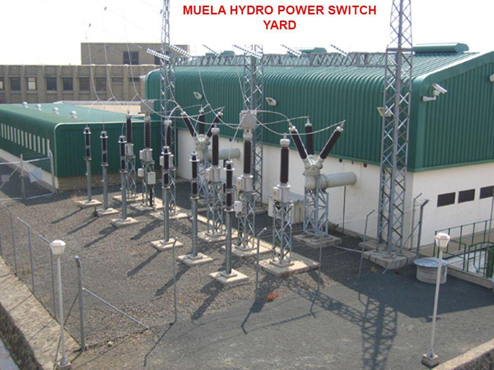 MUELA HYDRO POWER SWITCH YARD