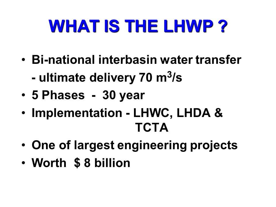 PS Katse reservoir Tunnel Intake Water transfer to SA