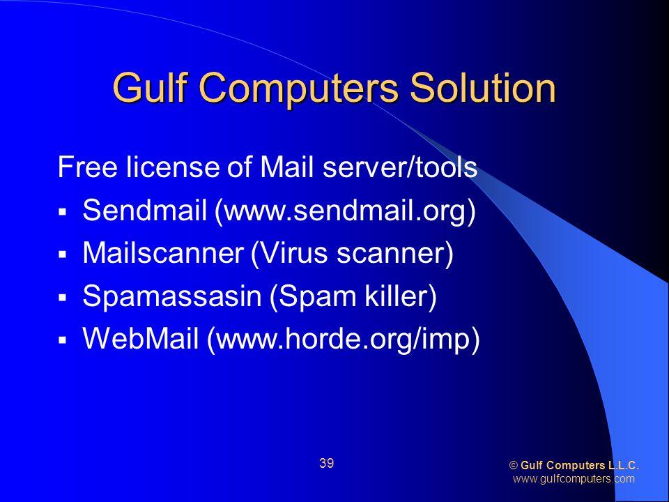 © Gulf Computers L.L.C.