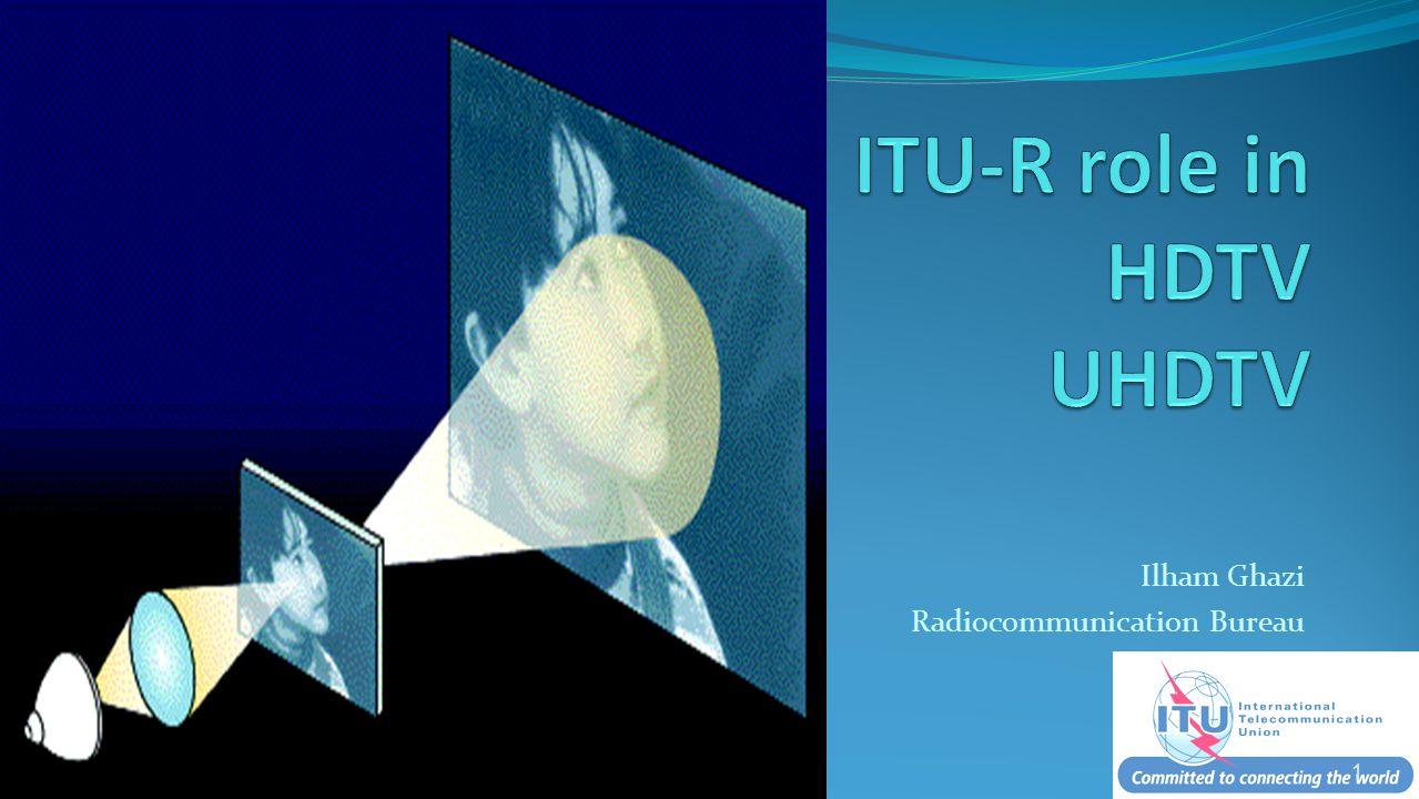 UHDTV- continuation of HDTV.