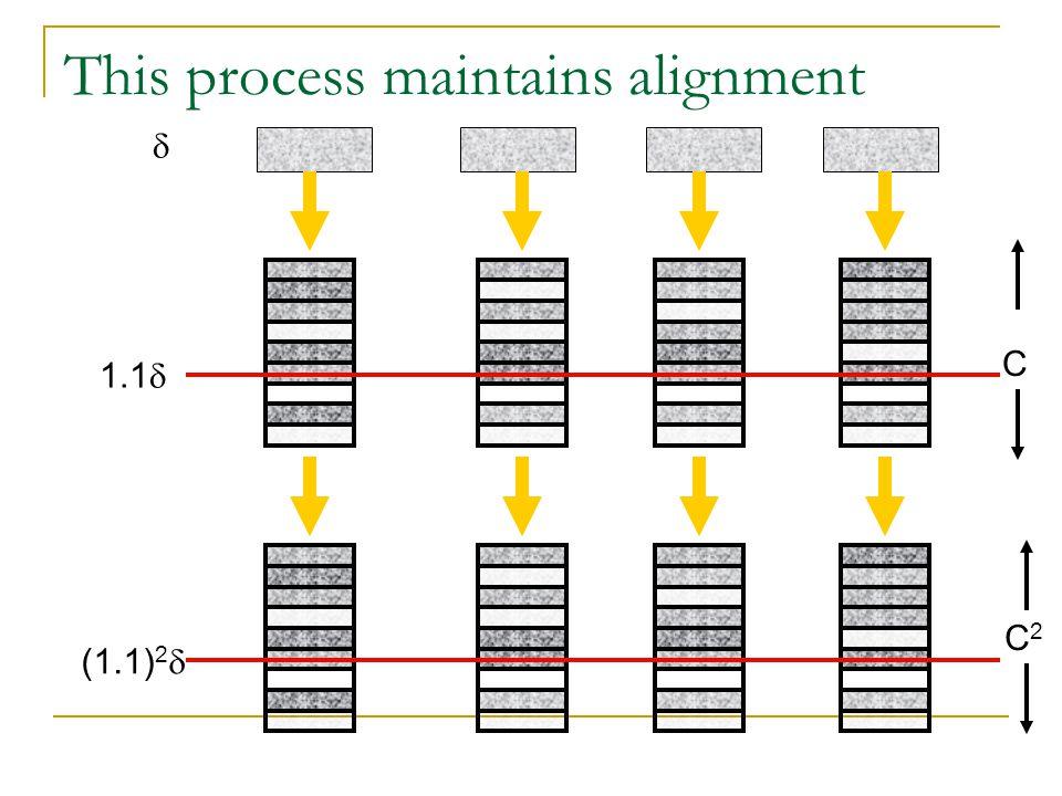 This process maintains alignment  1.1  C (1.1) 2  C2C2