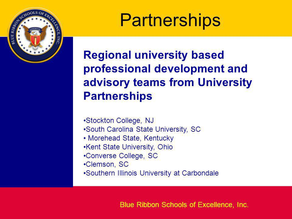 Blueprint for Excellence Blue Ribbon Schools of Excellence, Inc.