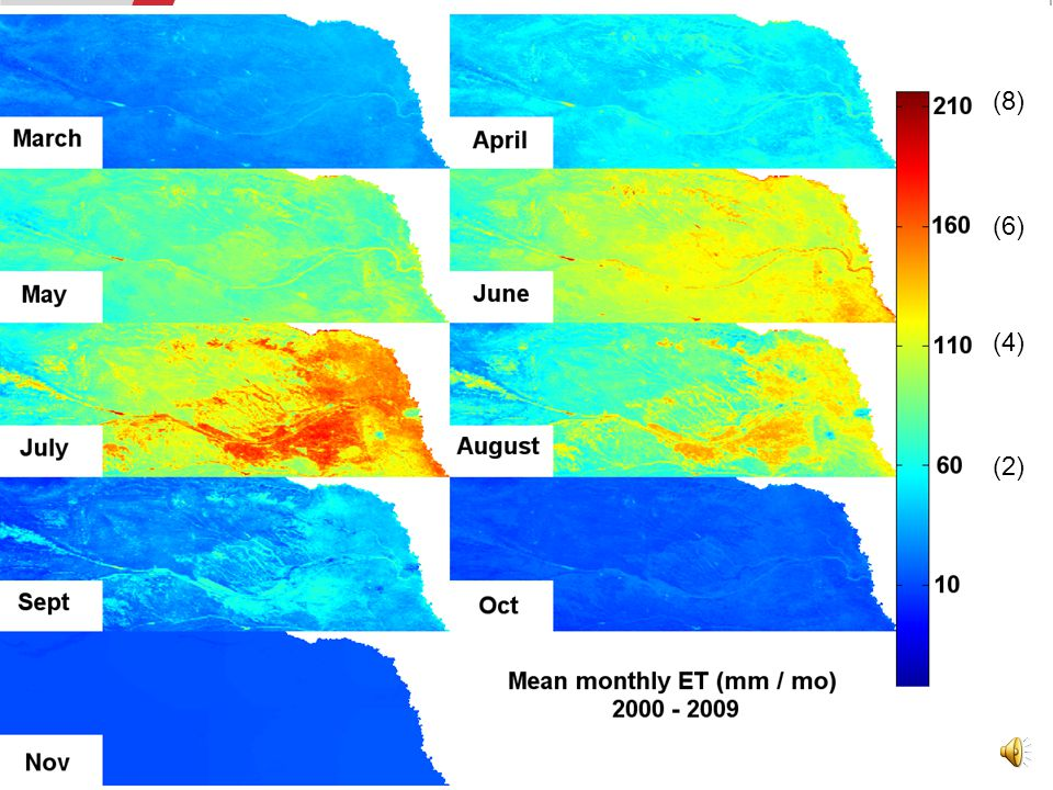 Mean annual ET / P, 2000-2009 Check out the eastern outlines of the Sand Hills!
