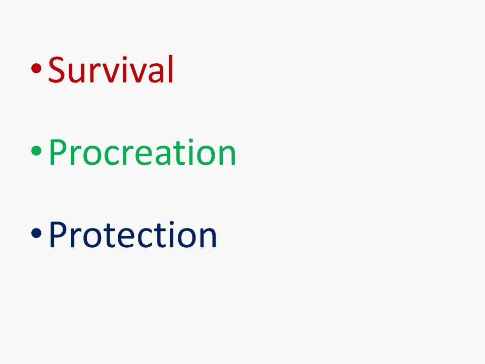 Survival Procreation Protection