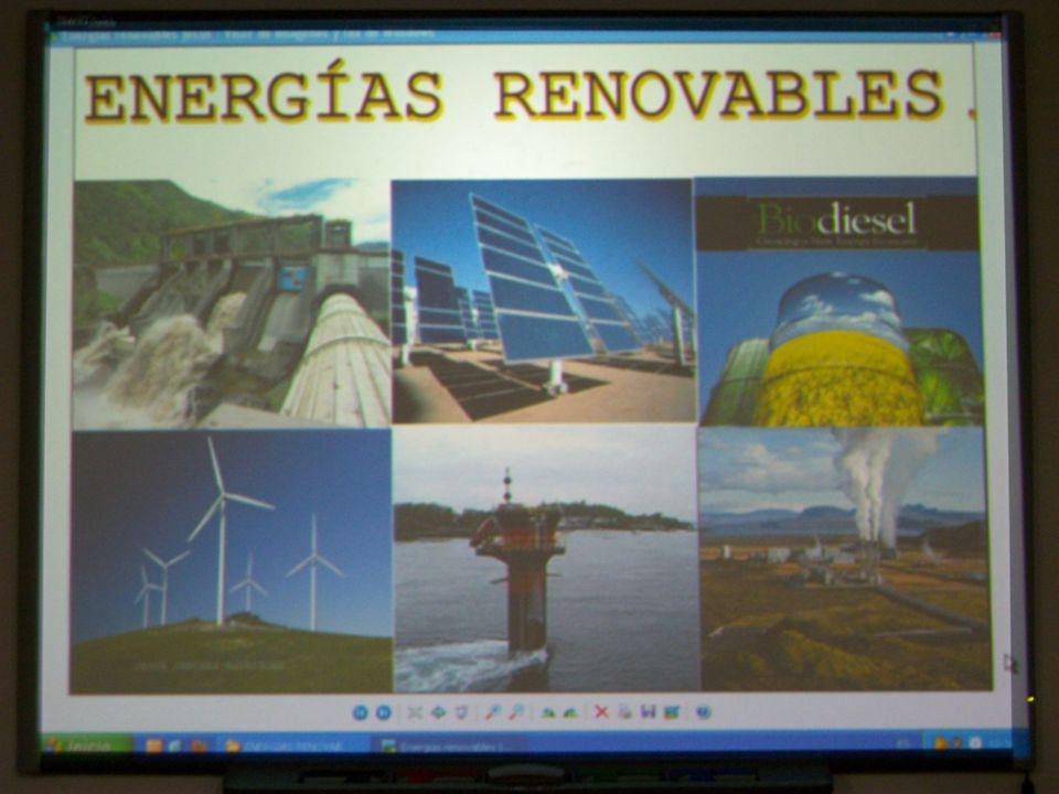 Tecnologia /Fisica y quimica (4º ESO-Secondary School) Working in the technology laboratory:  The students learn the making of the renewable energies