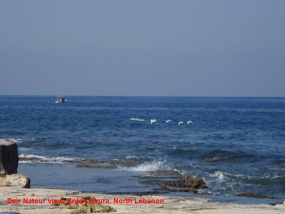 Deir Natour view, Enfeh Koura, North Lebanon