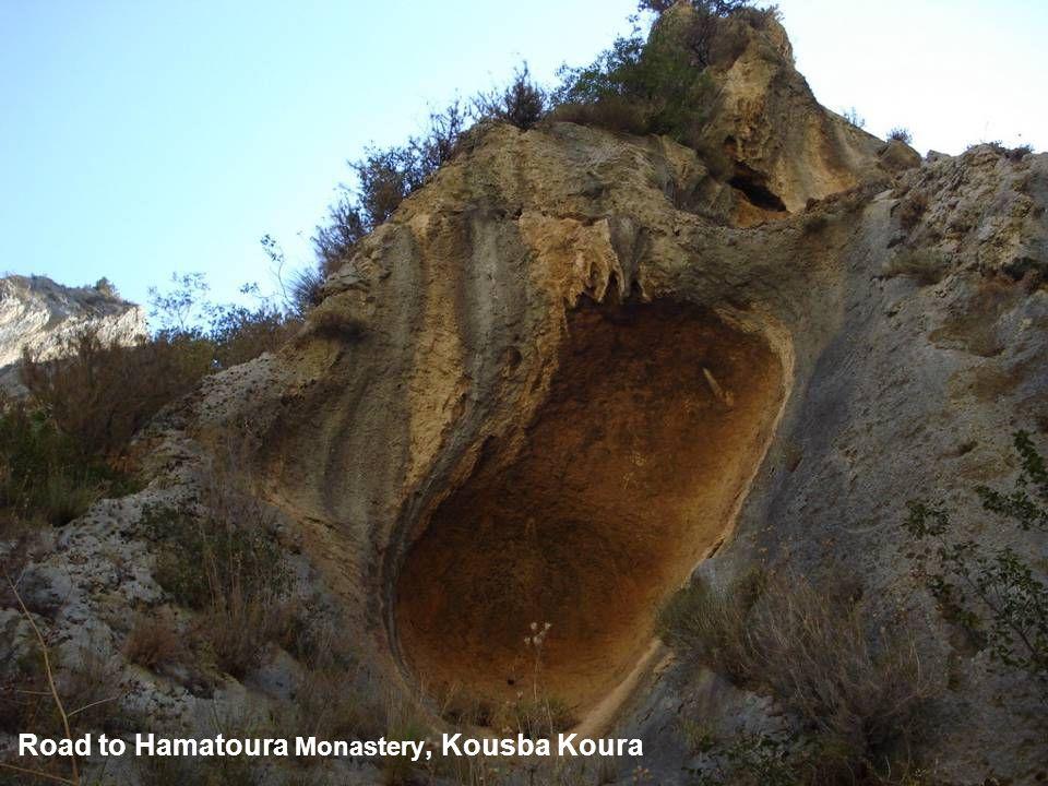 Road to Hamatoura Monastery, Kousba Koura