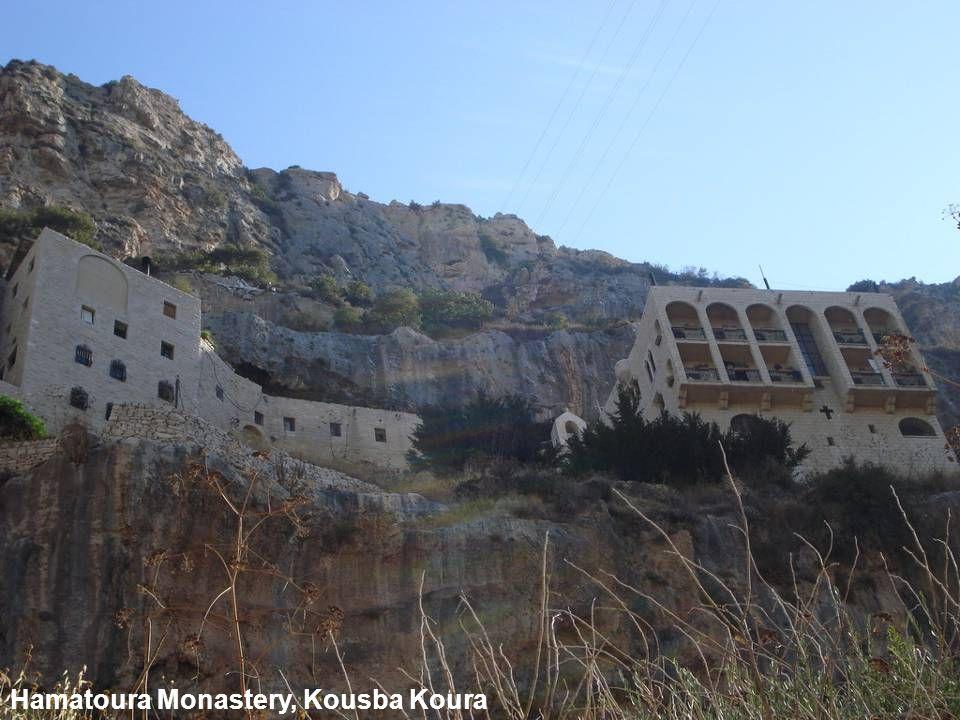 Hamatoura Monastery, Kousba Koura
